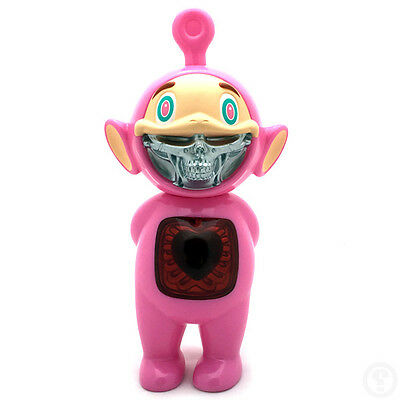 Ron English x Made by Monsters JPS Telegrinnies Pink Red Chest Cover Edition