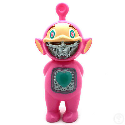 Ron English x Made by Monsters JPS Telegrinnies Pink Edition (Secret Version)