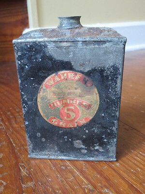 Old Warren Sporting Number 5 Grain Gun Powder Tin