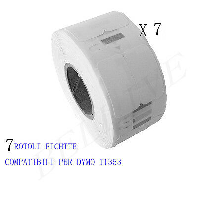 White 25mmX13mm 1000psc for DYMO Labelwriter 400-#S0722530
