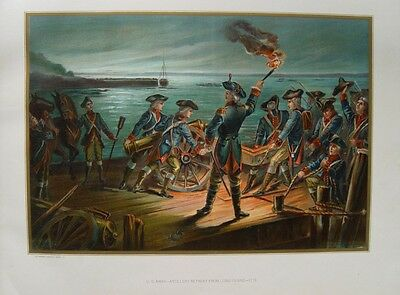 American Revolutionary War Battle Long Island Brooklyn New York Washington USA