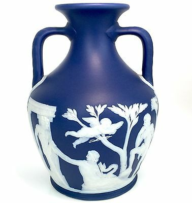 Wedgwood Portland Vase - EXCELLENT Condition! (18cm H)