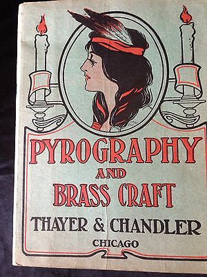Thayer & Chandler Pyrography And Brass Craft Catalog