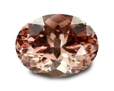 1.48 Carats Natural Malaya Garnet Loose Gemstone- Oval