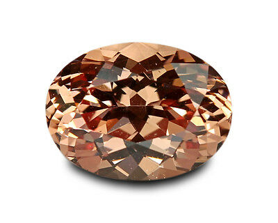 1.82 Carats Natural Malaya Garnet Loose Gemstone- Oval