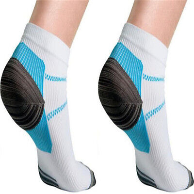 Unique New Plantar Fasciitis Heel Arch Pain Relieving Compression Sport Socks YU