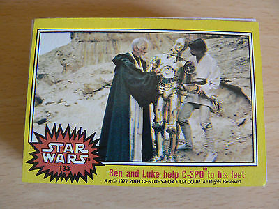 Star Wars Trading Cards 1977 Yellow Set + Sticker Set + Unopened Wax Pack