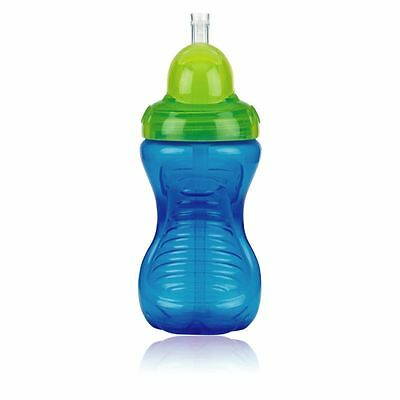 Nuby Flip It No Spill Beaker Cup 300ml 12+ Months Green Blue