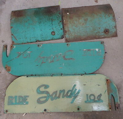 Sides for Coin Operated Sandy Kiddie Ride Horse