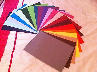 A4 Coloured Card Stock  160Gsm To 300Gsm  (You Choose Amount) Free Postage