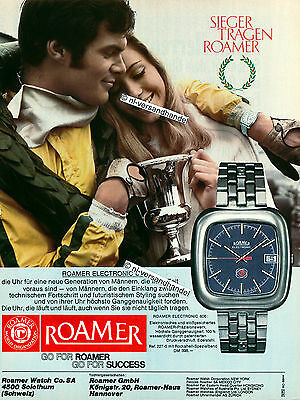 Roamer-Electronic606-1969-Reklame-Werbung-genuine Advertising- nl-Versandhandel