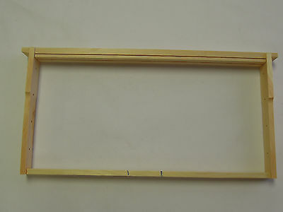 10 Bee Hive Frames assembled for deep hive body