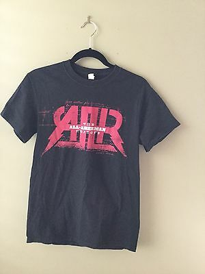 The All American Rejects I Wanna Rock Tour Tee Shirt Black Sz  S