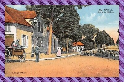 CPA 10 - MAILLY - route de chalon