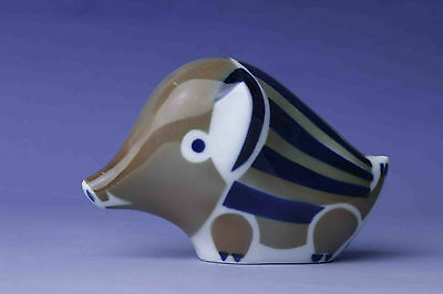 Sargadelos Porcelain Young Wild Boar Figurine - NEW