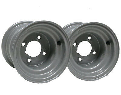 "Two -8"" inch wheel rim ride on lawnmower quad bike 7.00x8 4 stud compact tractor"