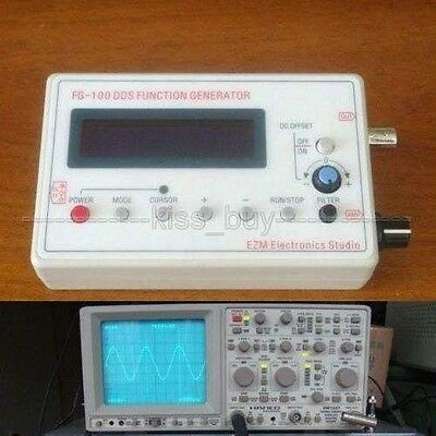 FG-100 DDS Function Signal Generator Sine + Triangle + Square Wave Frequency