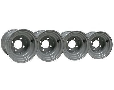 "Four-8"" inch wheel rim ride on lawnmower quad bike 7.00x8 4 stud compact tractor"