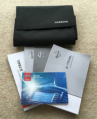 Nissan X-Trail Genuine Owners Manual Handbook With Service Book 2014-2015 #3382
