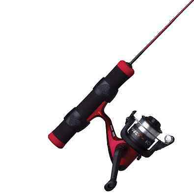 """Shakespeare FUEL ICE Combo 25"""" Red/Black Ultra Light Spin LOT OF 2 #FUEL25ULCBO"""
