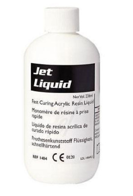 Dental Acrylic Tooth Lang Jet Denture Repair Liquid 236 ml (8 oz.) Bottle 1404