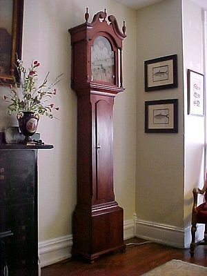 antique Pennsylvania Grandfather Clock 1773 provenance