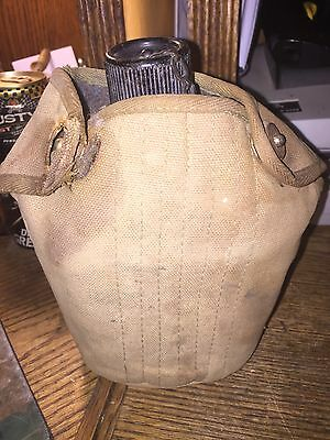Us Army Military Vollrath Canteen Wwii Ww2 1943 With Cover