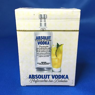 Rare New Absolut Vodka Spanish Playing Cards Factory Sealed Absolut Sueca Mexico
