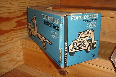 1/16 ford gmc flatbed truck new in box