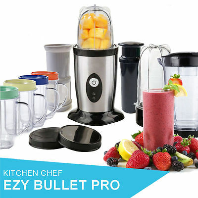 Magic Ezi Blender 34Pcs Bullet Processor Food Mixer With Fruit Juicer Kit
