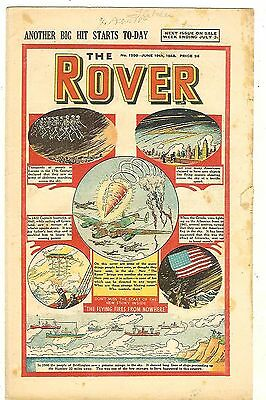 The Rover 1209 (June 19, 1948) mid-grade copy with some margin damage