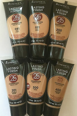 Rimmel Lasting Finish 25 Hour Naturally Flawless Foundation