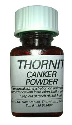 Thornit Canker Powder Original formula for ear mites in dogs cats and rabbits