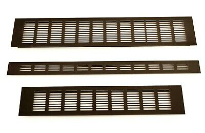 Brown Air Vent Grille Built-in Appliances Furniture Aluminium Ventilation Cover