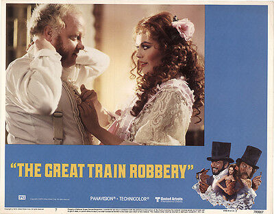 The Great Train Robbery 1979 Original Movie Poster Sean Connery Adventure Crime