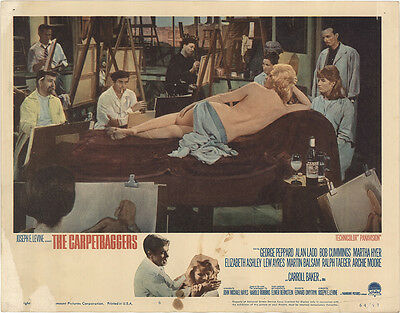 The Carpetbaggers 1964 Original Movie Poster George Peppard Drama