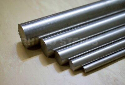CHEAP Mild Bright Steel EN1A Round Solid Metal Bar Rod - 3mm to 60mm Any Length