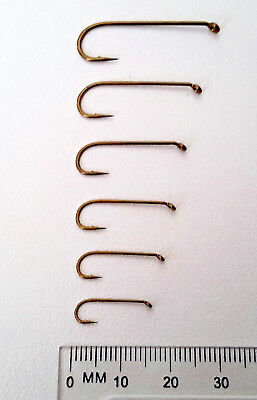 Mustad Signature R74NP-BR Streamer Fly Hooks for Fly Tying in sizes #4 to #14