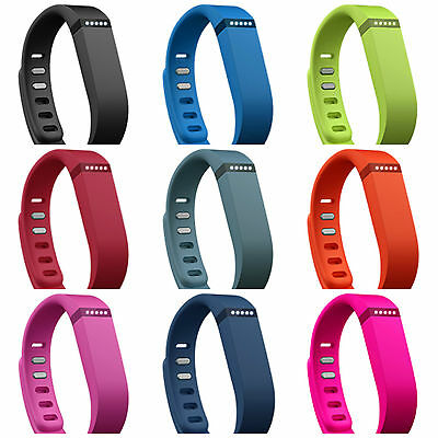 Wireless Bracelet Wristband Replacement Band Large Small + Clasp for Fitbit Flex