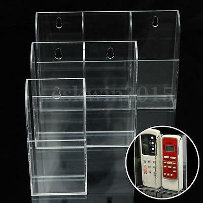 1/2/3 Case Wall Mount Clear Storage Box TV Remote Control Air Conditioner Holder