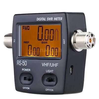 Digital SWR Wave Ratio Power Meter for HAM UHF/VHF 125-525MHz USB Interface JF6M