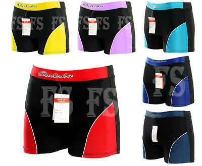 Men's Swimwear Trunks Boxer Swimming Swim Shorts Slim Beach Pants*ausstock*sw20