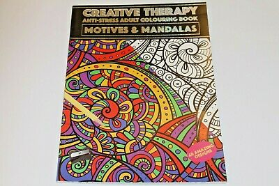 Adult Art 'Colouring Books' With Creative, Relaxing & Therapeutic Designs.