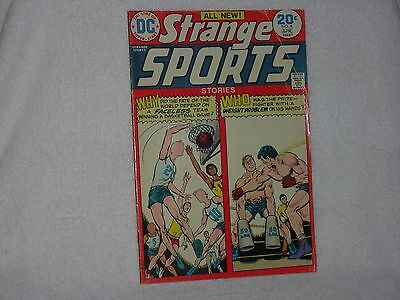 DC Comics Strange Sports Vol.2 # 4  1974