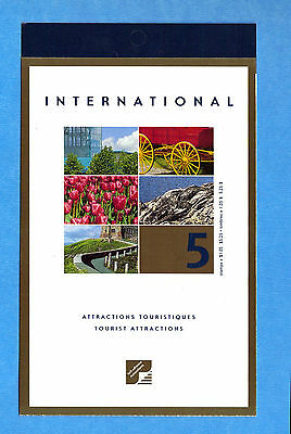 Canada 2001 Tourist Attractions Scott# BK244 Booklet Of 5
