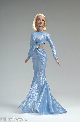 Tonner Sydney Chase High Style Ice Blue Gown blonde NRFT NEW
