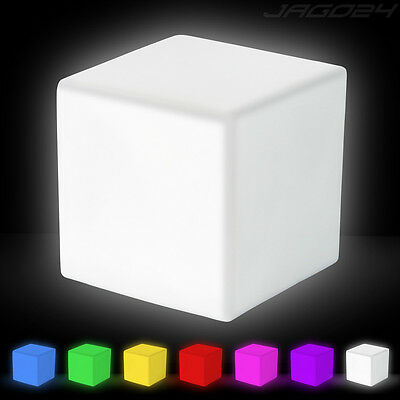 Lámpara LED multicolor con Forma de Cubo Luz ambiental Iluminación Decoración
