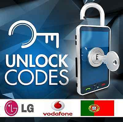 UNLOCK LG G4 VODAFONE PORTUGAL - ALL LG models supported