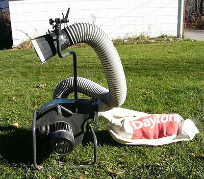 Dayton Portable Vacuum Dust Collector For Woodworking