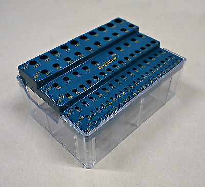 HQ Rocky DRILL BIT STAND HOLDER for 1mm~13mm BITS with Storage Box